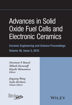 Advances in Solid Oxide Fuel Cells and Electronic Ceramics, Volume 36, Issue 3 (1119211514) cover image