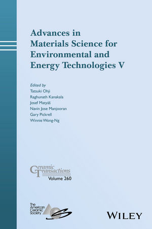 Advances in Materials Science for Environmental and Energy Technologies V (1119323614) cover image