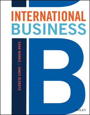International Business, Preliminary Edition (1119433614) cover image
