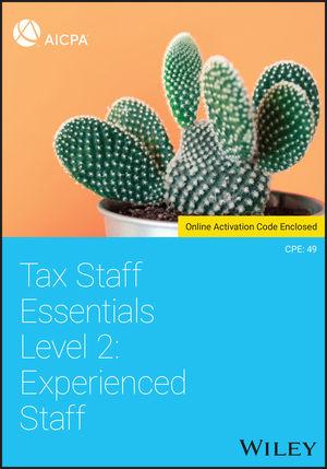 Tax Staff Essentials, Level 2: Experienced Staff