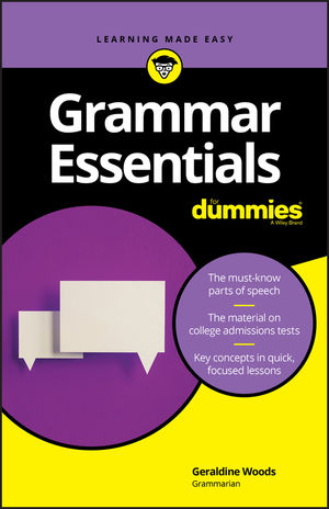 Grammar Essentials For Dummies, 1st Edition