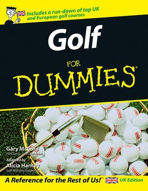 Golf For Dummies, UK Edition (1119996414) cover image