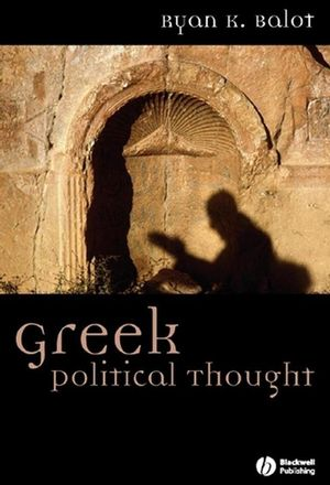 Greek Political Thought (1405152214) cover image