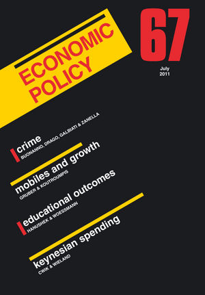 Economic Policy 67 (1444338714) cover image