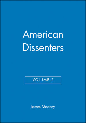 American Dissenters, Volume 2 (1933385014) cover image
