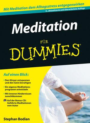 Meditation für Dummies, 4. Auflage