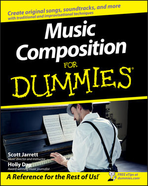 Music Composition For Dummies (0470224215) cover image
