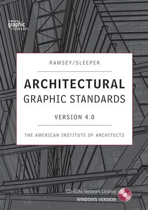 Architectural Graphic Standards 4.0, Network Version (0470344415) cover image