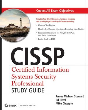 CISSP: Certified Information Systems Security Professional Study Guide, 4th Edition (0470395915) cover image