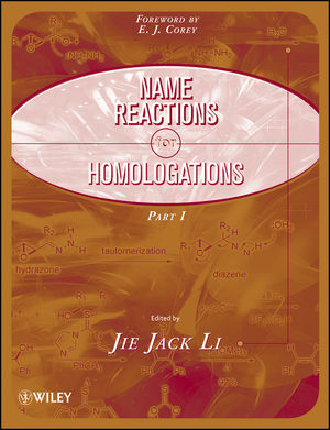 Name Reactions for Homologation, 2 Part Set (0470467215) cover image