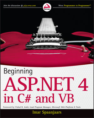 Beginning ASP.NET 4: in C# and VB (0470502215) cover image