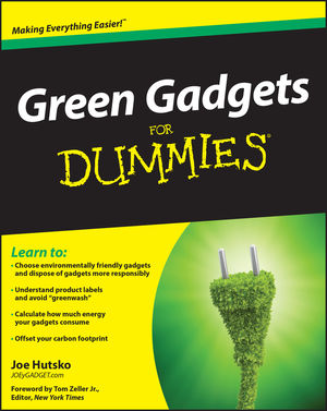 Green Gadgets For Dummies (0470528915) cover image
