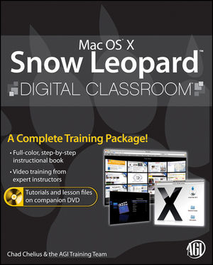 Mac OS X Snow Leopard Digital Classroom (0470597615) cover image