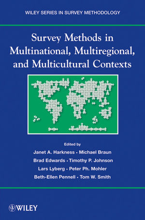 Survey Methods in Multicultural, Multinational, and Multiregional Contexts (0470609915) cover image