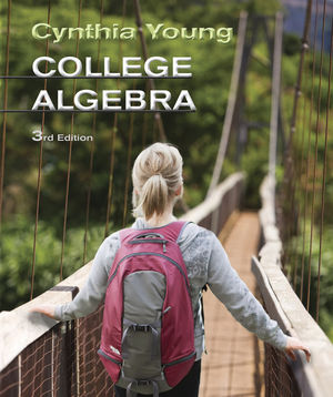 College Algebra, 3rd Edition (0470648015) cover image