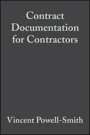 Contract Documentation for Contractors, 3rd Edition