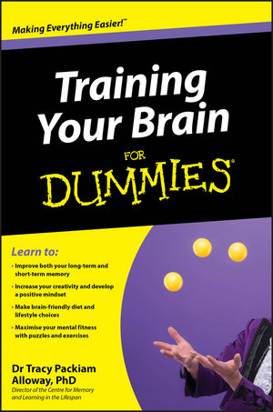 Training Your Brain For Dummies (0470975415) cover image