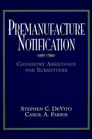 Premanufacture Notification: Chemistry Assistance for Submitters