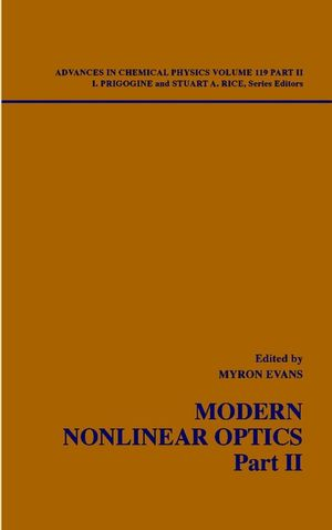 Modern Nonlinear Optics, Part 2, 2nd Edition, Volume 119