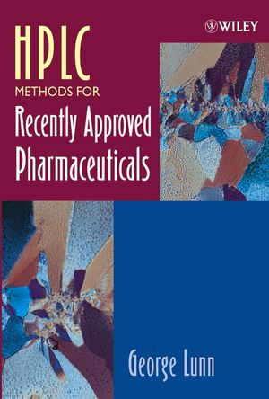 HPLC Methods for Recently Approved Pharmaceuticals (0471669415) cover image