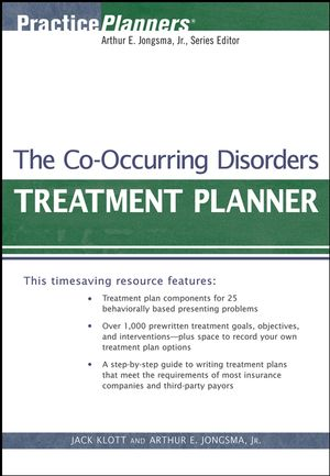 The Co-Occurring Disorders Treatment Planner