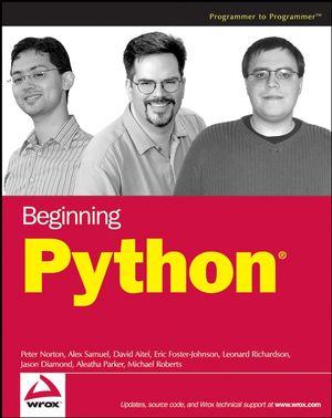 Beginning Python (0471760315) cover image