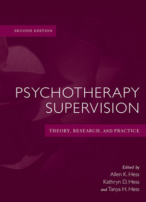Psychotherapy Supervision Theory Research And Practice 2nd