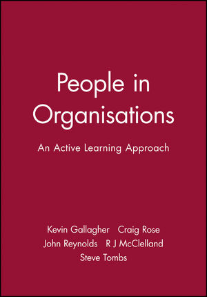 People in Organisations: An Active Learning Approach
