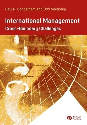 International Management: Cross- Boundary Challenges