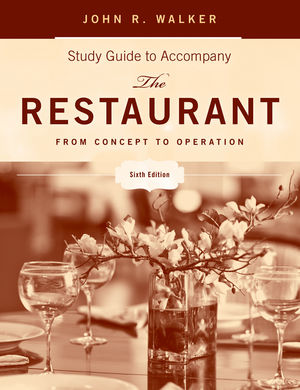 The Restaurant: From Concept to Operation, Study Guide, 6th Edition (1118066715) cover image