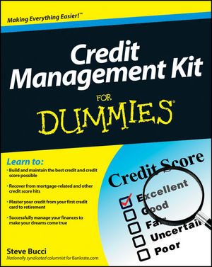 Credit Management Kit For Dummies (1118145615) cover image