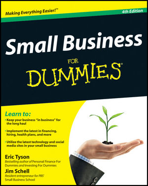 Small Business For Dummies, 4th Edition (1118213815) cover image