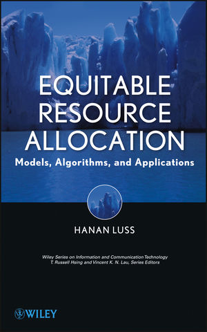 Equitable Resource Allocation: Models, Algorithms and Applications (1118449215) cover image