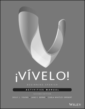 �V�velo!: Beginning Spanish Activities Manual, 2nd Edition
