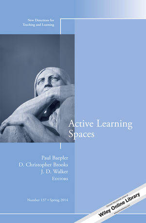 Active Learning Spaces: New Directions for Teaching and Learning, Number 137 (1118870115) cover image