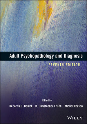Adult Psychopathology and Diagnosis, 7th Edition (1118927915) cover image