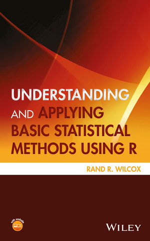 Understanding and Applying Basic Statistical Methods Using R (1119061415) cover image