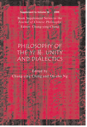 Philosophy of the Yi: Unity and Dialectics (1444334115) cover image