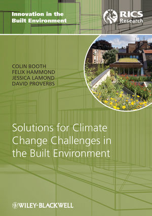 Solutions for Climate Change Challenges in the Built Environment (1444354515) cover image