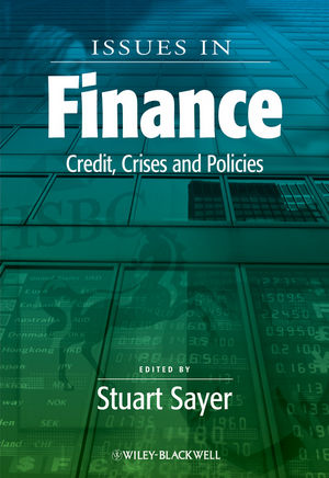 Issues in Finance: Credit, Crises and Policies (1444391615) cover image