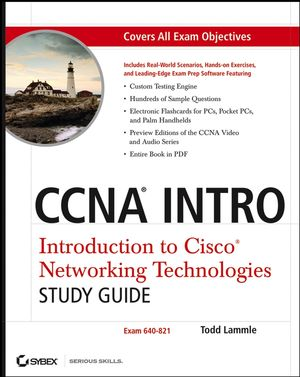 CCNA INTRO: Introduction to Cisco Networking Technologies Study Guide: Exam 640-821 (0470108916) cover image