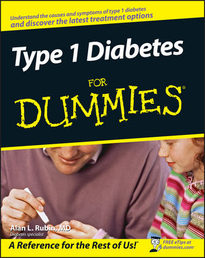 Type 1 Diabetes For Dummies (0470178116) cover image