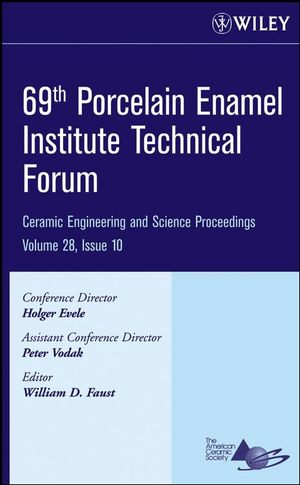 69th Porcelain Enamel Institute Technical Forum, Volume 28, Issue 10