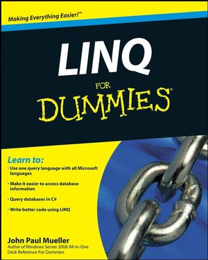 LINQ For Dummies (0470507616) cover image