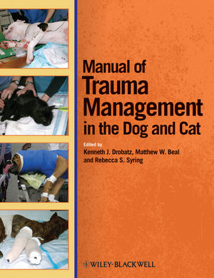 Manual of Trauma Management in the Dog and Cat (0470958316) cover image