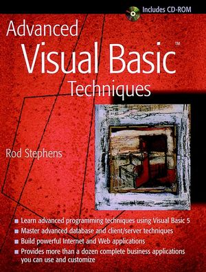 Advanced Visual Basic Techniques  (0471188816) cover image