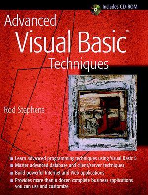 Advanced Visual Basic<sup><small>TM</small></sup> Techniques