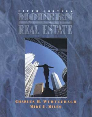 Modern Real Estate, 5th Edition