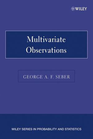 Multivariate Observations (0471691216) cover image