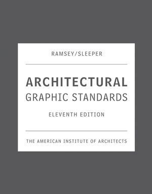 Architectural Graphic Standards, 11th Edition (0471700916) cover image
